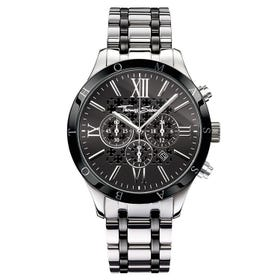 Rebel at Heart Black Chronograph Watch