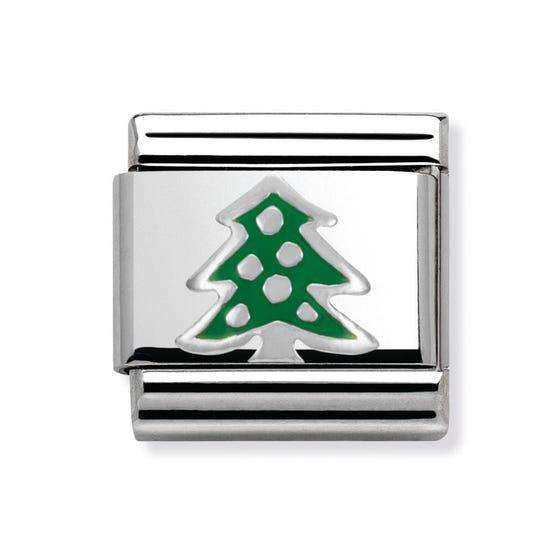 Green Christmas Tree Classic Charm