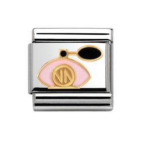 Pink Perfume Bottle Classic Charm