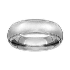 Titanium Shoulder Cut 6mm Ring