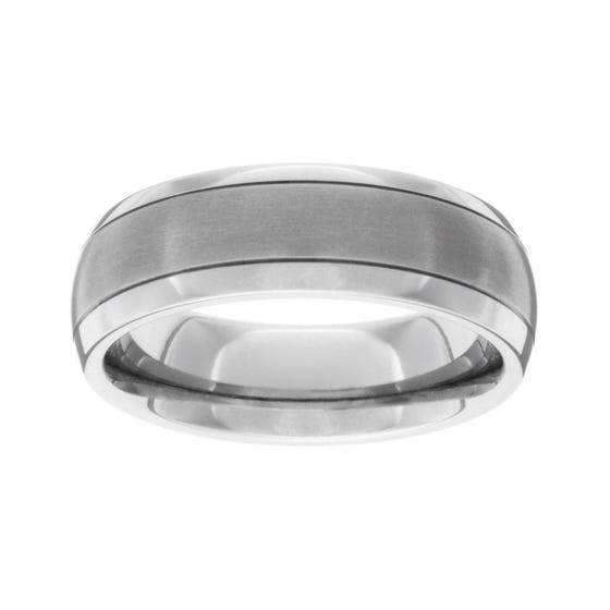 Titanium Dark 7mm Ring