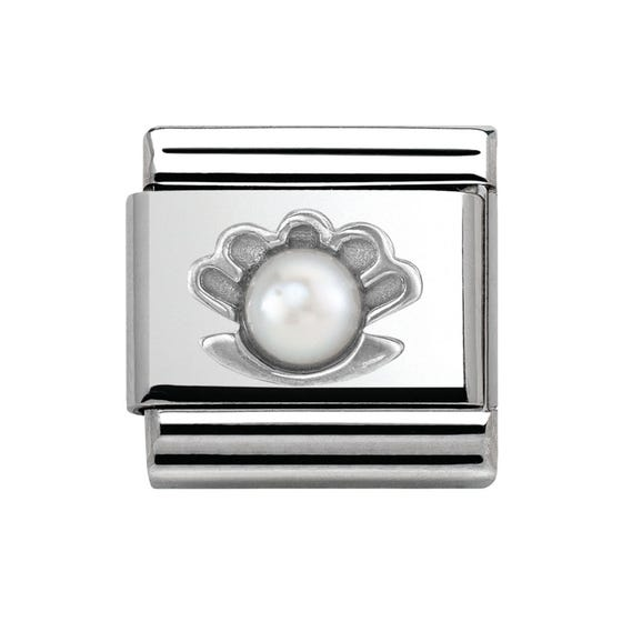 Pearl in Shell Classic Charm