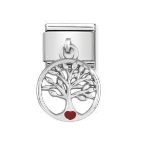 Classic Silver Tree of Life Charm