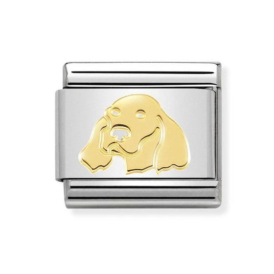 Classic 18ct Gold Irish Setter Charm