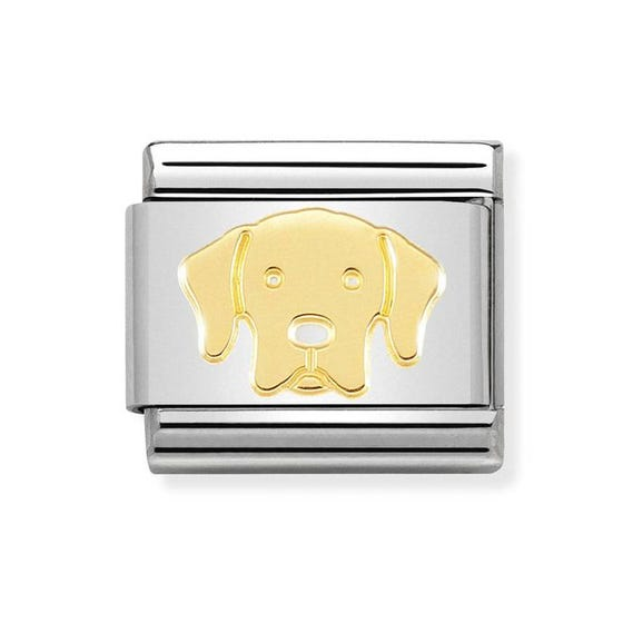 Classic 18ct Gold Labrador Retriever Charm