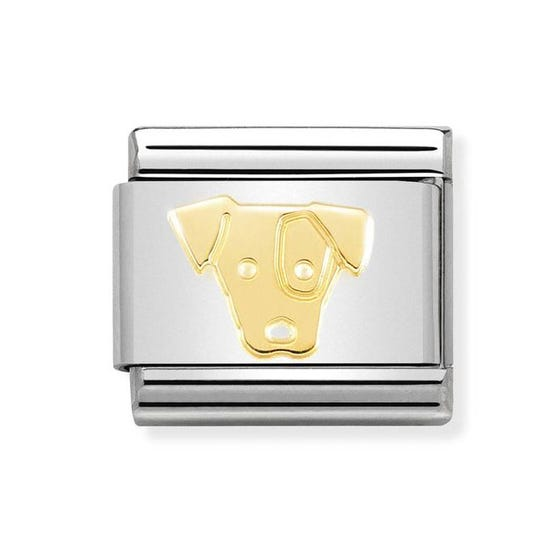 Classic 18ct Gold Jack Russell Charm