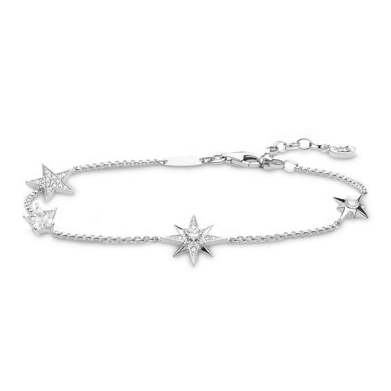 Sparkling Stars Silver Bracelet