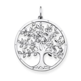 Glam & Soul Silver Tree of Love Pendant