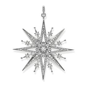 Silver Royalty Star Pendant