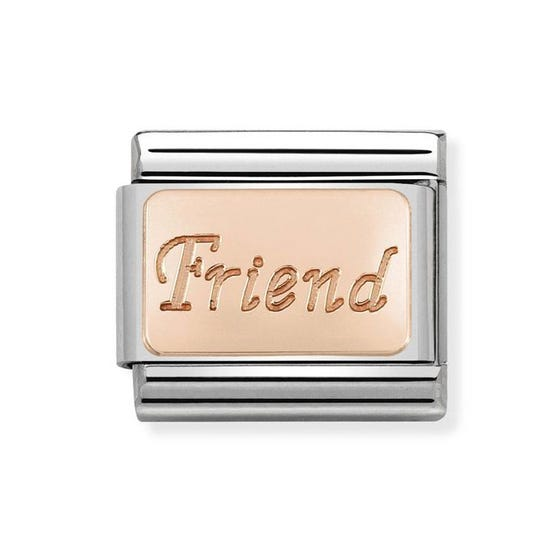 Classic Rose Gold Friend Charm