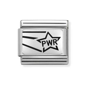 Classic Silver Pwr Charm