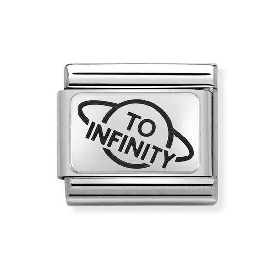 Classic Silver To Infinity Charm