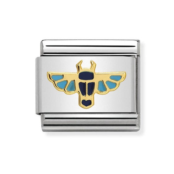 Classic Gold Egyptian Scarab Charm