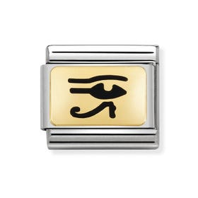Classic Gold Egyptian Eye Charm