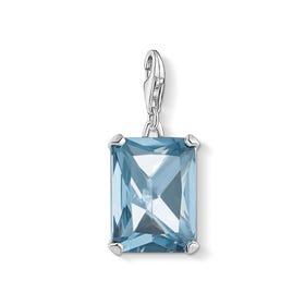 Silver Blue Magic Stones Charm