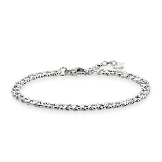 Rebel Silver Chain Bracelet