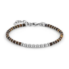 Instinct Tiger's Eye Bead Bracelet