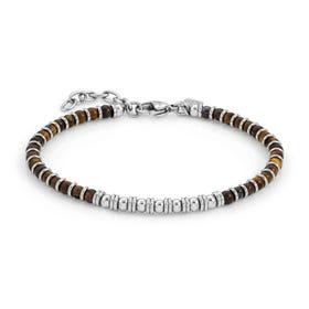 Instinct Tiger's Eye Bead Bracelet