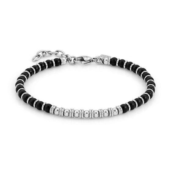 Instinct Onyx Bead Bracelet
