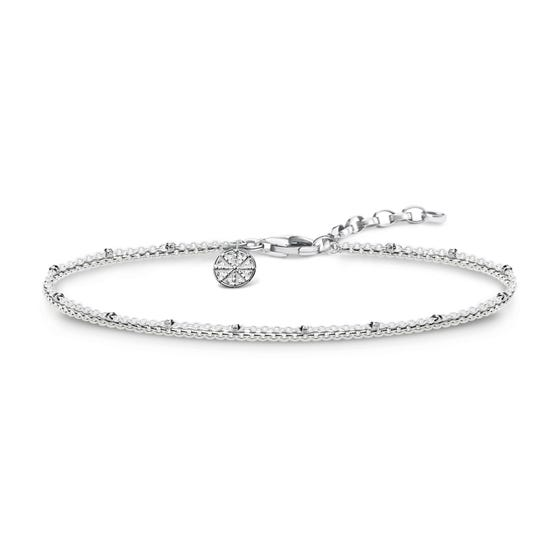 Silver Karma Wheel Bracelet