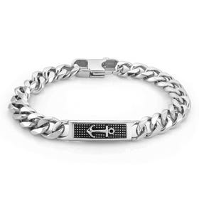 Instinct Marina Stainless Steel Anchor Bracelet