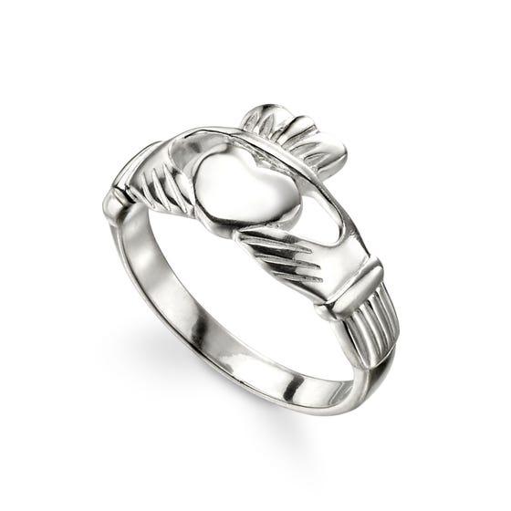 Symbols Silver Claddagh Ring