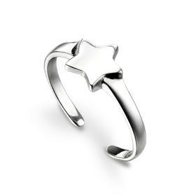 Celestial Silver Star Toe Ring
