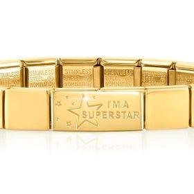 GLAM Gold Superstar Bracelet