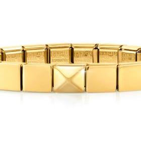 GLAM Gold Pyramid Bracelet