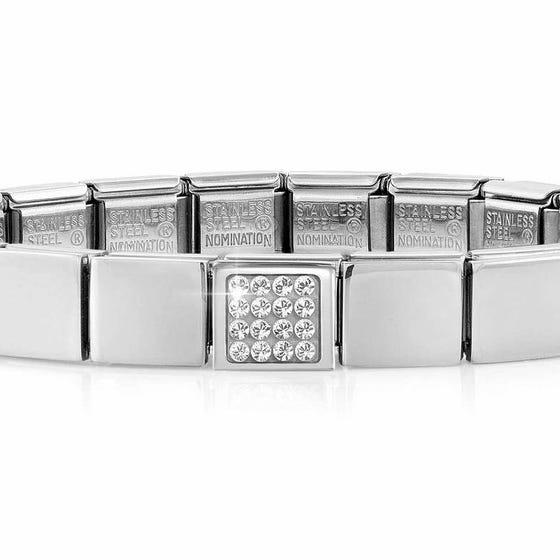 GLAM Pave Crystal Bracelet