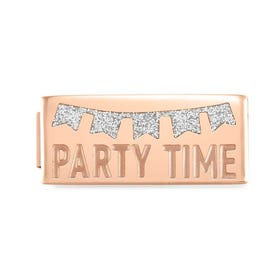 GLAM Rose Gold Party Time Double Charm