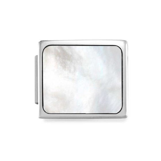 GLAM Mother of Pearl Square Charm