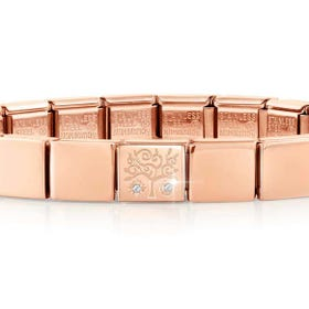 GLAM Rose Gold CZ Tree of Life Charm