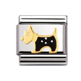 Black Terrier Classic Charm