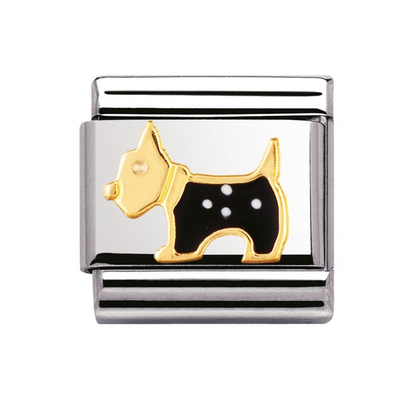 Black Terrier Classic Charm