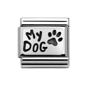 My Family Silver My Dog Classic Charm