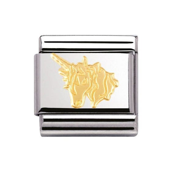 18ct Gold Unicorn Classic Charm