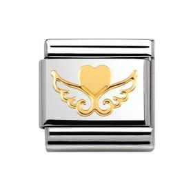 Angel Heart Charm