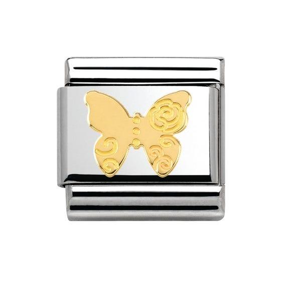 La Vie en Rose Butterfly Classic Charm