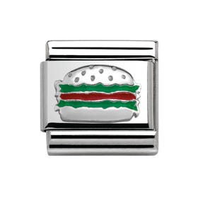 Around the World Hamburger Classic Charm