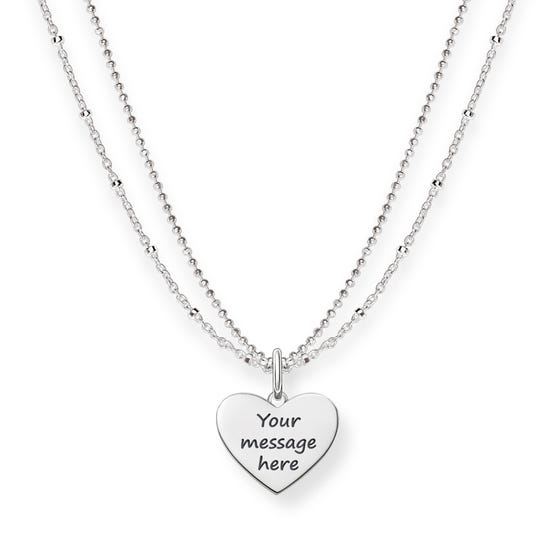 Love Bridge Heart Necklace
