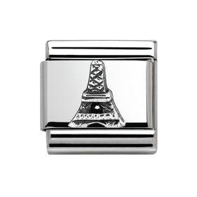 Around The World Silver Eiffel Tower Charm