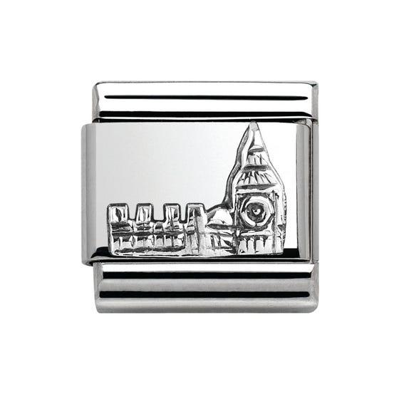 Around The World Silver & Big Ben Charm