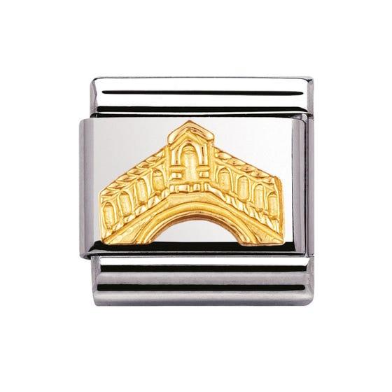 Classic Gold Rialto Bridge Charm