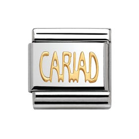 18ct Gold Cariad (Darling/Sweetheart) Charm