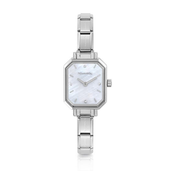 Classic Time Mother of Pearl Dial Watch