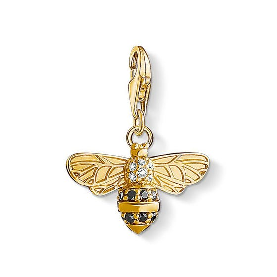 Gold Plated Bee Charm