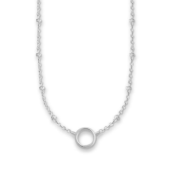 Silver Fine Charm Club Necklace