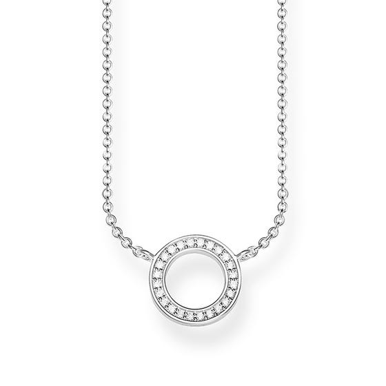Silver Glam Ring Necklace