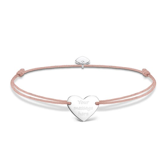 Little Secrets Heart Engravable Bracelet